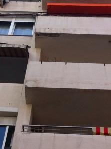 Detalle balcones a reparar